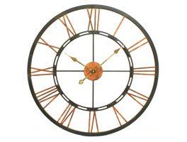 LibraSkeletal Wall Clock