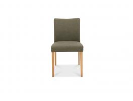 Malmo Oak Upholstered Chair (x2)