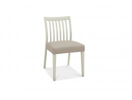 Malmo Grey Low Slat Back Chair (x2)