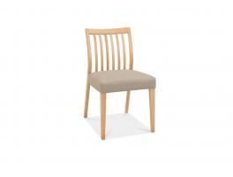 Malmo Oak Low Slat Back Chair (x2)