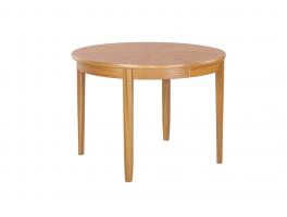 Nathan Shades Teak Circular Dining Table