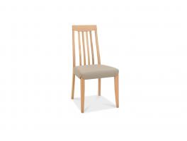 Malmo Oak Slat Back Chair (x2)