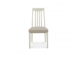 Malmo Grey Slat Back Chair (x2)