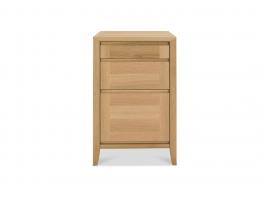 Malmo Oak Filing Cabinet