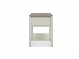 Malmo Grey Lamp Table with Drawer