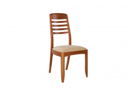 Nathan Shades Teak Ladder Back Dining Chair