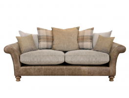 Alexander & James New Lawrence 3 Seater Pillow Back Sofa