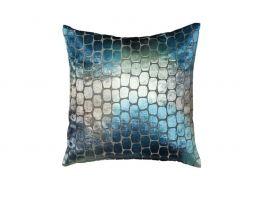 Scatter Box Ariel Blue Cushion