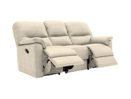 G Plan Chadwick 3 Seater Manual Double Recliner Sofa