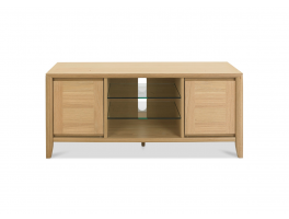 Malmo Oak Entertainment Unit