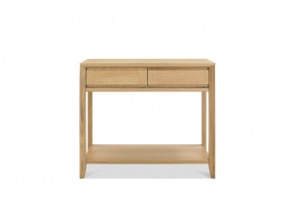 Malmo Oak Console Table with Drawer