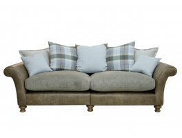 Alexander & James New Lawrence 4 Seater Pillow Back Sofa