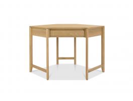 Malmo Oak Corner Desk