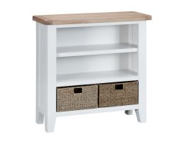 Hague Living & Dining Small Wide Bookcase