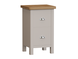 Worcester Truffle Small Bedside Cabinet
