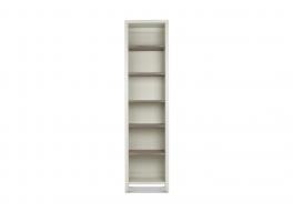 Malmo Grey Narrow Bookcase
