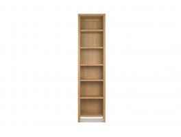 Malmo Oak Narrow Bookcase