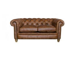 Alexander & James Abraham Junior Small Leather Sofa