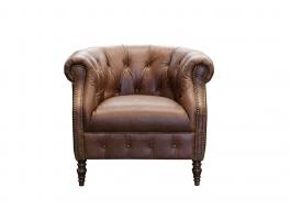 Alexander & James Jude Leather Armchair