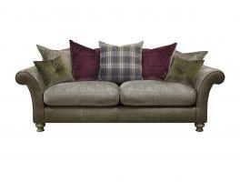 Alexander & James Blake 3 Seater Pillow Back Sofa