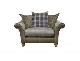 Alexander & James Blake Pillow Back Snuggler Chair