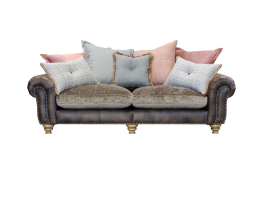 Alexander & James Bloomsbury Large Split Pillow Back Sofa