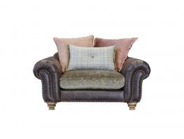 Alexander & James Bloomsbury Pillow Back Snuggler Chair