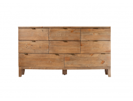 Mariner Bedroom 8 Drawer Wide Chest
