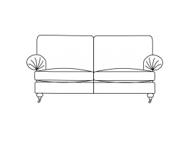 Duresta Burford Compact Sofa Classic Back