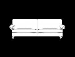 Duresta Burford Grand Sofa Classic Back
