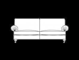 Duresta Burford Large Sofa Classic Back
