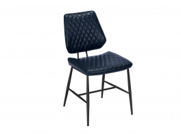 Busker Dalton Dark Blue Dining Chair