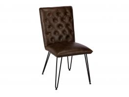 Busker Lewis Dark Brown Dining Chair