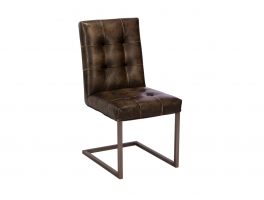 Busker Rupert Brown Dining Chair