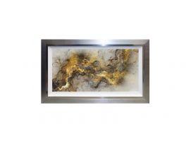 Solar Abstract Liquid Art