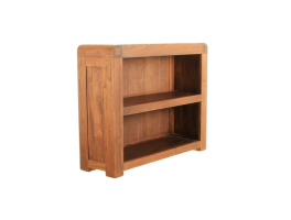 Baumhaus Shiro Walnut Low Bookcase