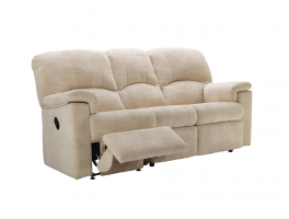 G Plan Chloe 3 Seater Manual Recliner Sofa Double