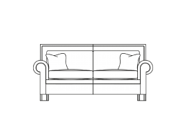 Duresta Coco Small Sofa