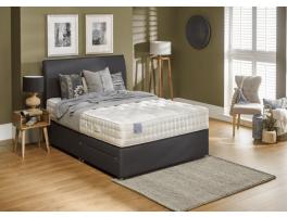 Relyon Dreamworld Coniston Natural Wool 2200 Divan Bed