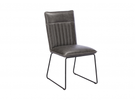 Busker Cooper Dining Chair Grey