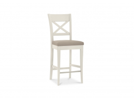 Lyanna Cross Back Bar Stool (Pair)