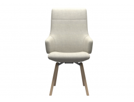 Stressless Chilli High Back Dining Chair (L) with Arms D200