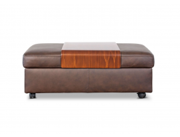 Stressless Ottomans Double Ottoman with Table