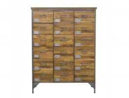 Bluebone Re-Engineered 18 Drawer Apothecary Chest