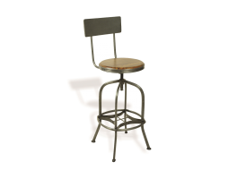 Bluebone Re-Engineered Swivel Bar Stool