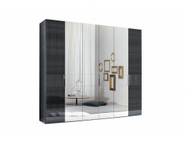 Alf Italia Ferrara Bedroom 6 Door Swinging Wardrobe