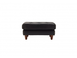 G Plan Vintage Fifty Nine Leather Footstool