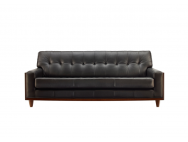 G Plan Vintage Fifty Nine 3 Seater Leather Sofa