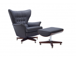 G Plan Vintage Sixty Two Armchair & Footstool