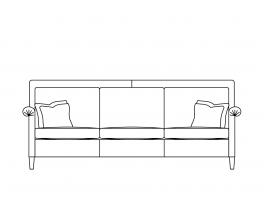 Duresta Gabrielle Large Sofa